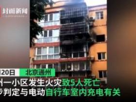 北京市通州区夜查电动自行车 一夜罚款29万元