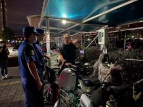 北京通州夜查电动自行车消防安全,两天发现几百辆车违规停放