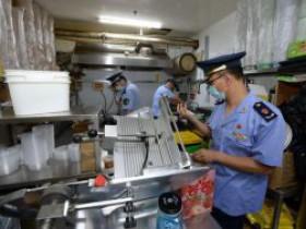 北京通州顺壹顺美食城被责令停业整顿,前期检查环境脏乱等未有效整改