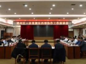 北京市通州区委副书记、代区长孟景伟带队到对口帮扶的奈曼旗调研京蒙帮扶工作及通州区、奈曼旗东西部协作…