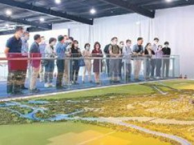 两岸记者参观北京城市副中心