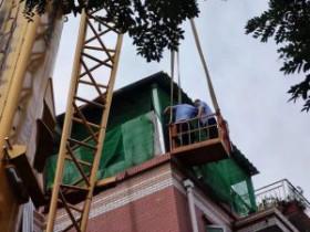 通州一顶楼违建厨房,新业主翻修遭举报,执法队:拆!
