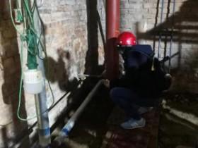 通州区供热单位陆续启动试水打压